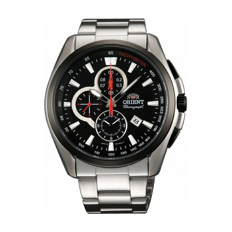 Orient - Reloj Acero Quartz Hombre FTT13001B