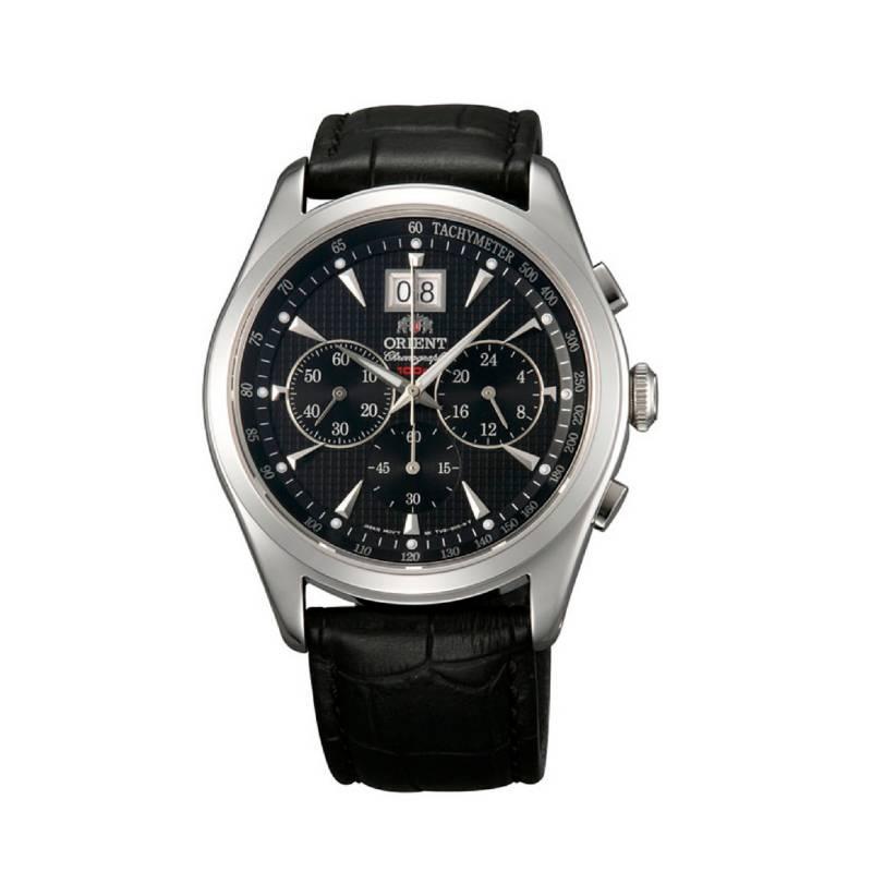 Orient - Reloj Cuero Quartz Hombre FTV01004B