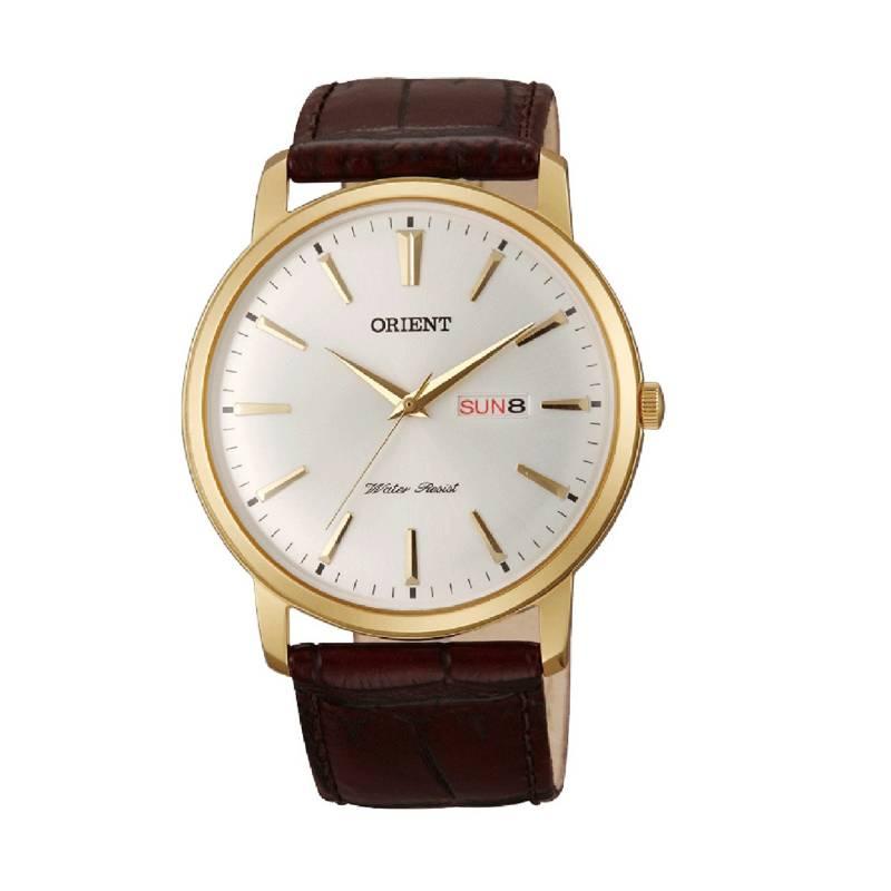Orient - Reloj Cuero Quartz Hombre FUG1R001W
