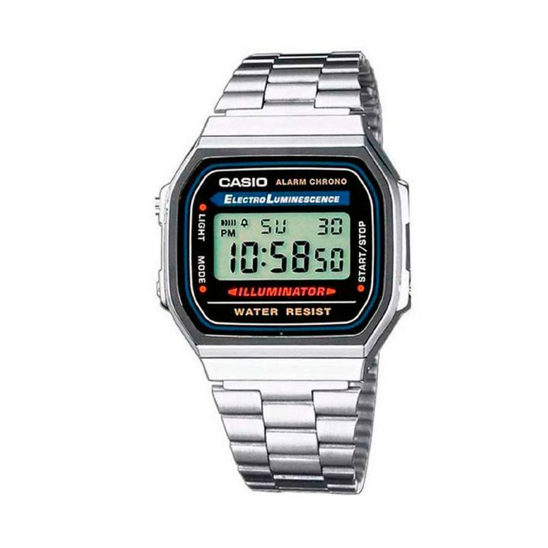 Casio - Reloj A-168WA-1W