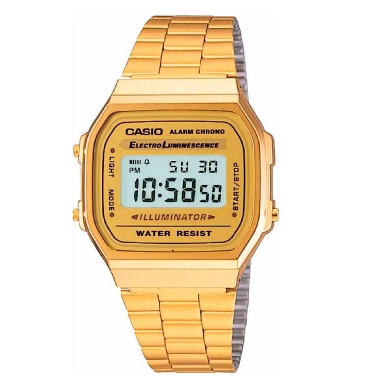 Casio - Reloj Unisex Casio A-168WG-9W