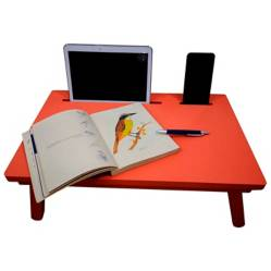 Mesa Laptop Chocolate 55 x 35 cm