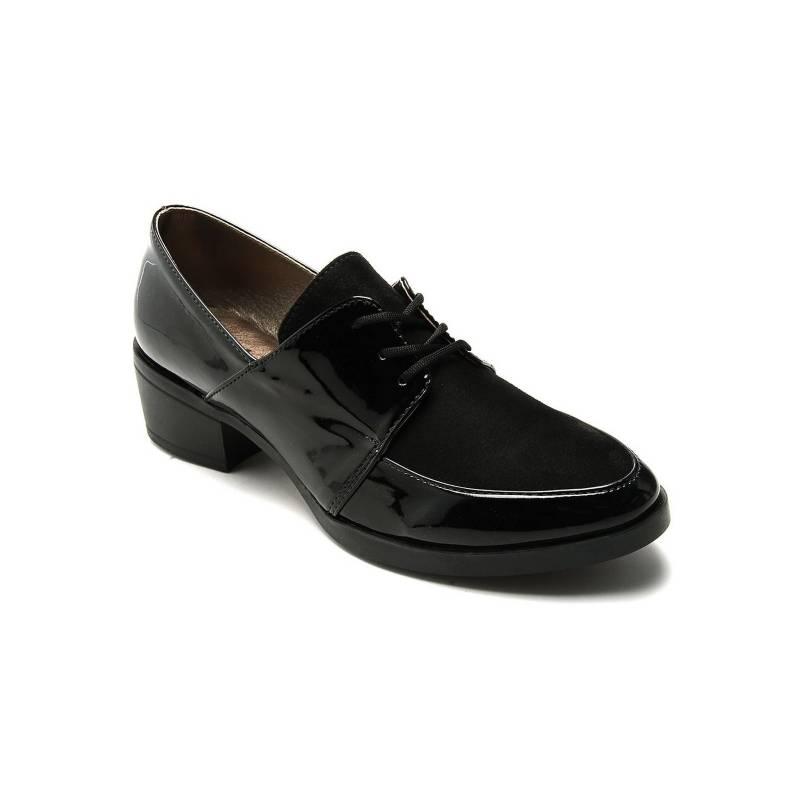 Tellenzi - Zapato Moda Dama Negro Tellenzi 1220