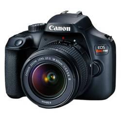 Canon - Cámara profesional Canon EOS T100 Lente 18-55 18MP