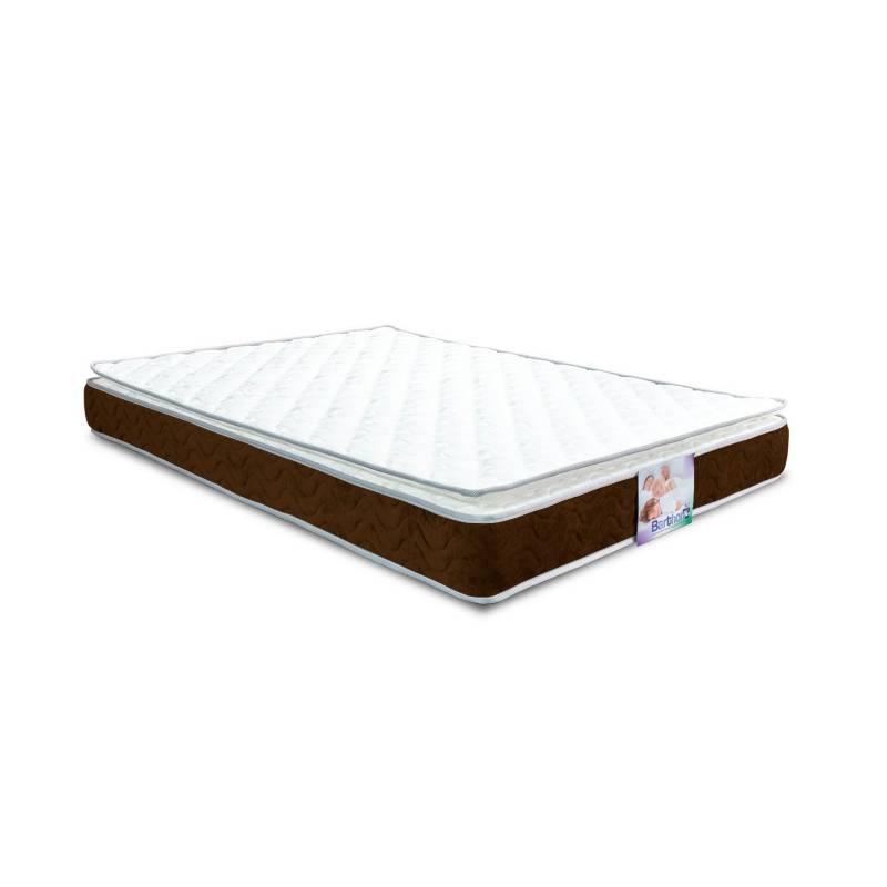 Barthon - Colchón con base Sencillo Z2 Pillow Intermedio