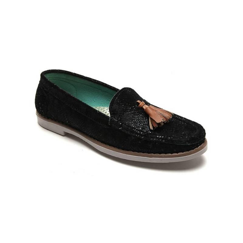 Tellenzi - Zapato Casual Dama Negro Tellenzi R01