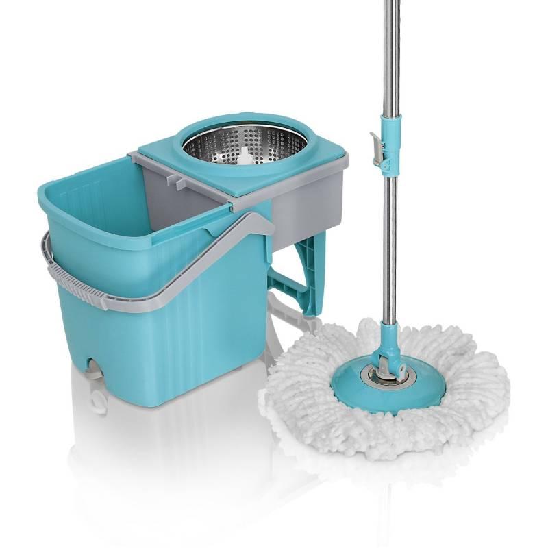 Energy Plus - Trapero giratorio 360 Stainless mop