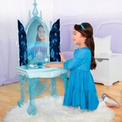 Frozen 2 tocador encantado de Elsa luces y sonido