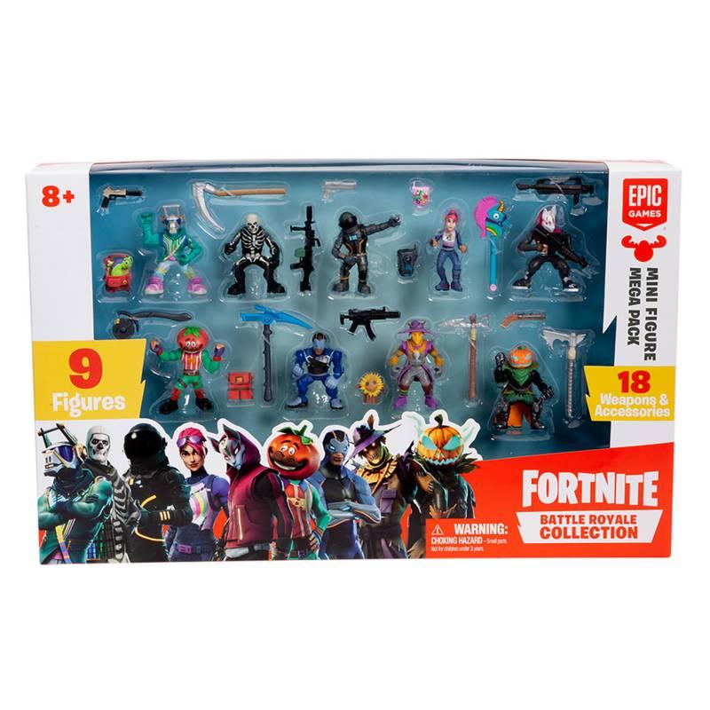 Fortnite - Fortnite S2 Mega Set Mini Figuras
