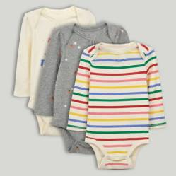 GAP - Body Bebé Niña Pack x 3 GAP