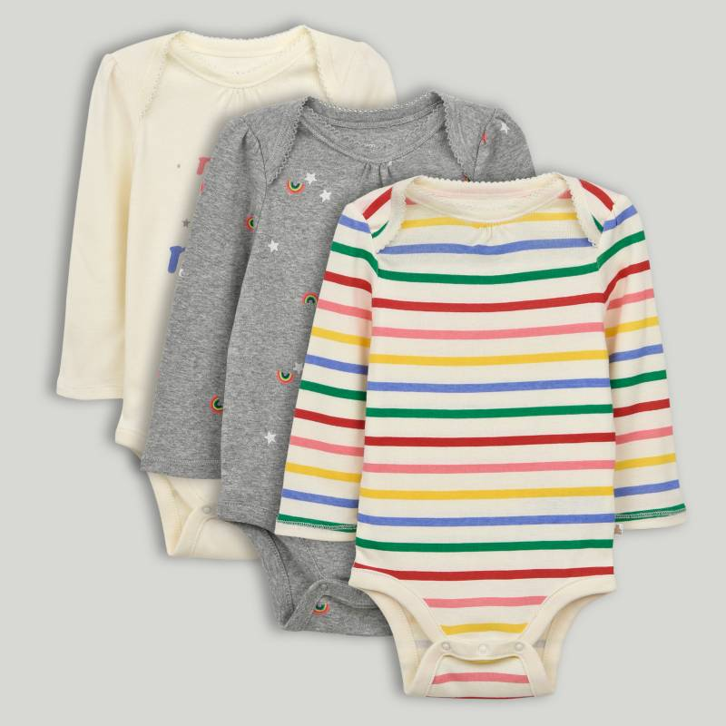 GAP - Body Bebé Niña Pack x 3 GAP