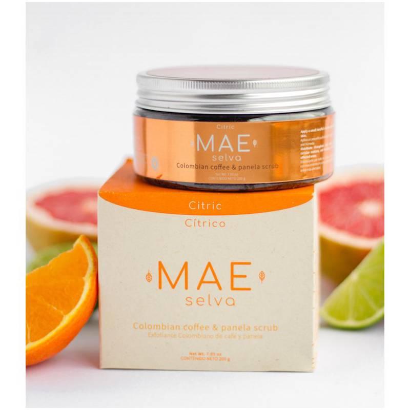 Mae Selva  - Exfoliante de café y panela-Aroma cítrico