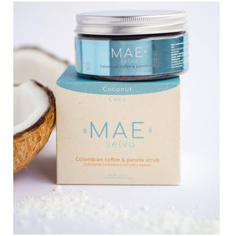 Mae Selva  - Exfoliante de café y panela-Aroma coco