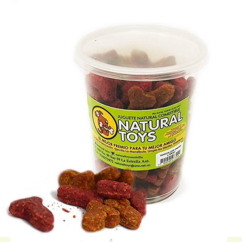 Natural Toys - Gomitas Con Omega Y Fibra Natural Para Gato 1 Lb