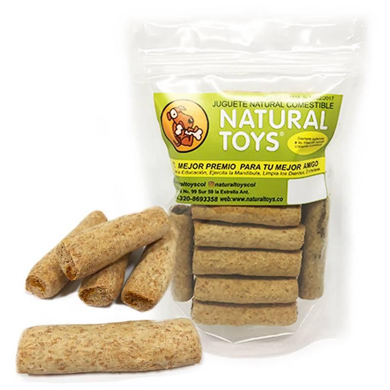 Natural Toys - Barquillo relleno de carne natural + FIBRA 200 GR