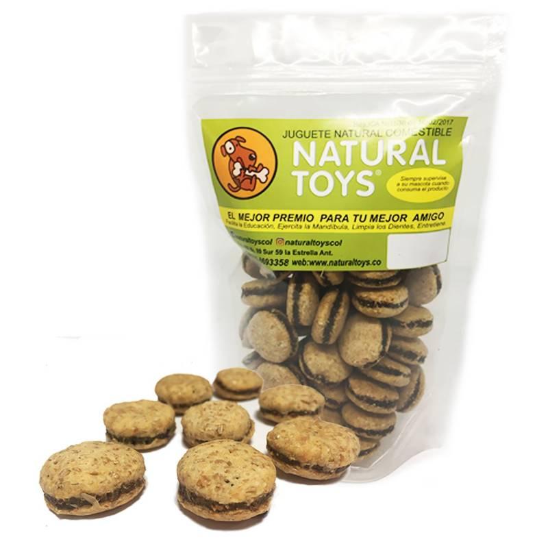 Natural Toys - Hamburguesas naturales de fibra +Carne 200 Gr