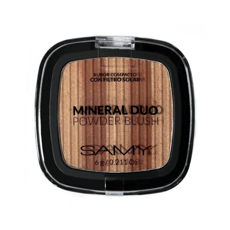 Samy Cosmetics - Rubor Dúo Con Espejo N 5