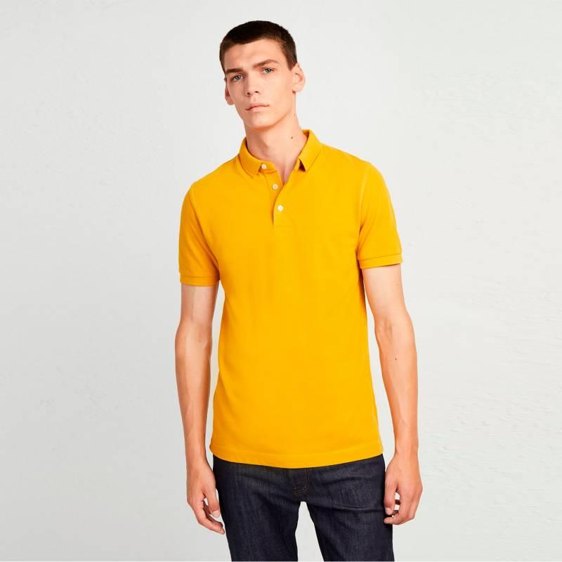 French Connection - Camiseta Polo pique Amarilla