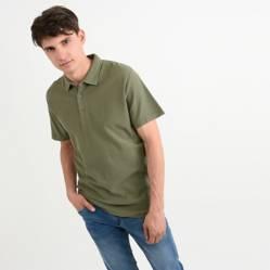 Camiseta Polo Verde Militar