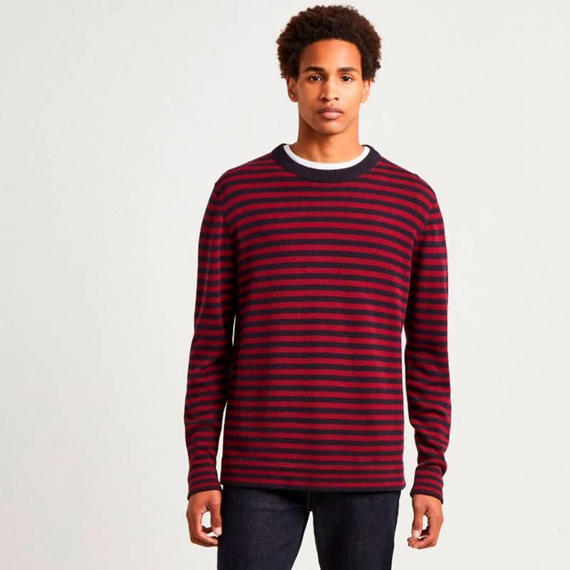 French Connection - Sweater Stripe Vino