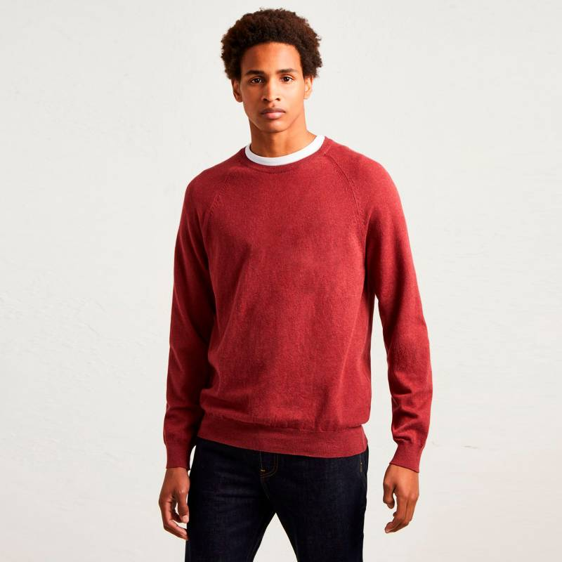 French Connection - Sweater Stretch Crew Rojo