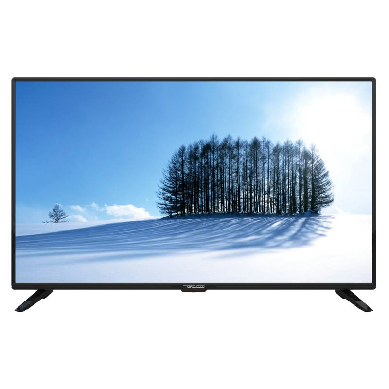 Recco - Televisor Recco 43 pulgadas LED Full HD Smart TV