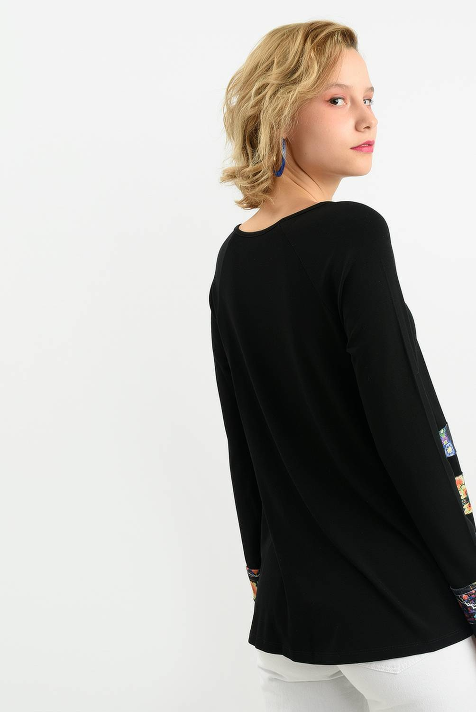 Desigual - Camiseta Mujer Manga Larga Desigual