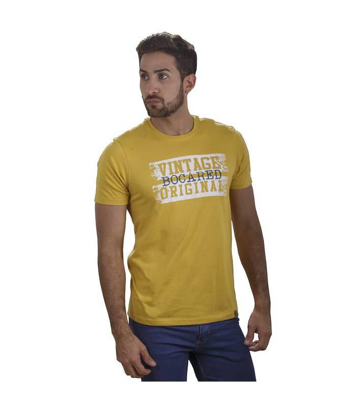 Bocared - Barclay Camiseta Para Hombre Con Estampado