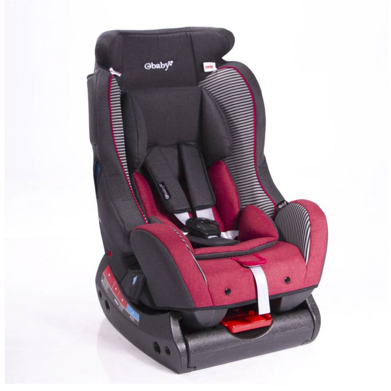 eBaby - Silla de Auto Bux Roja