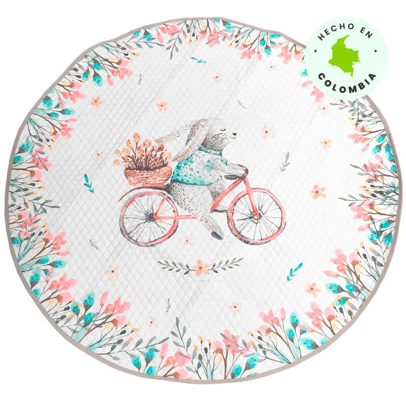 Mica Kids - Tapete Playmat 134 cm Bunny