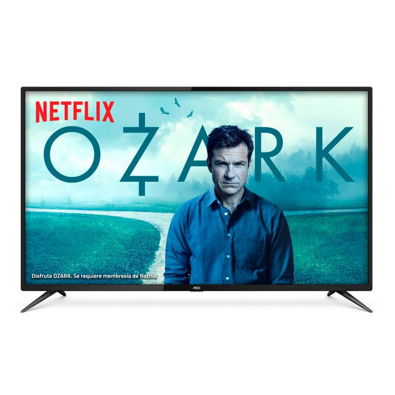 AOC - Televisor AOC 55 pulgadas LED 4K Ultra HD Smart TV