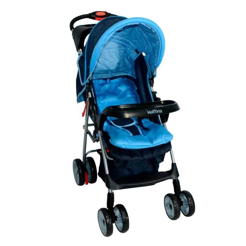 MATTINA - Coche Cuna Mattina Comfort Azul Ms-3225B8
