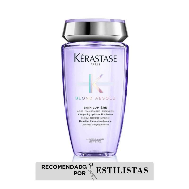 Kerastase - Shampoo Lumiere Blond Absolu 250 ml: Neutraliza Cabello rubio