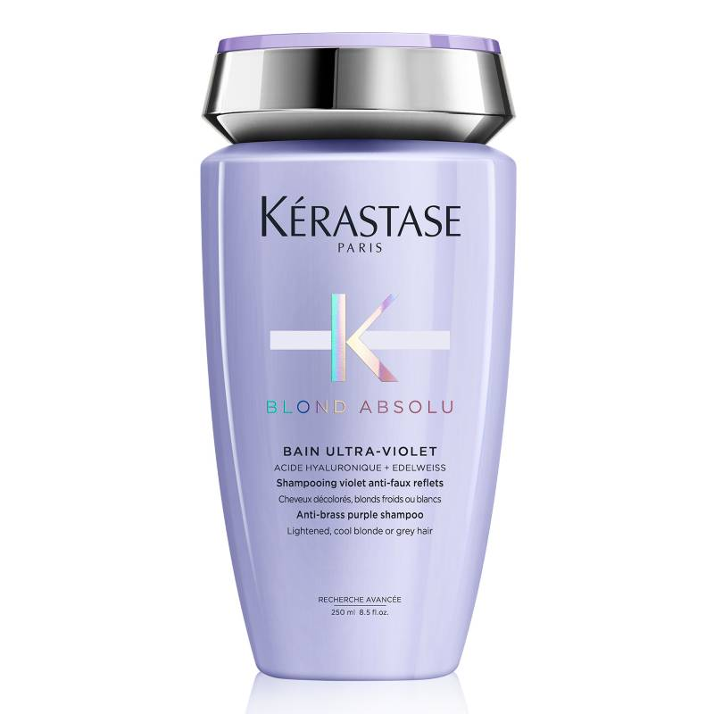 Kerastase - Shampoo Ultra Violet Blond neutraliza tonalidades amarillas