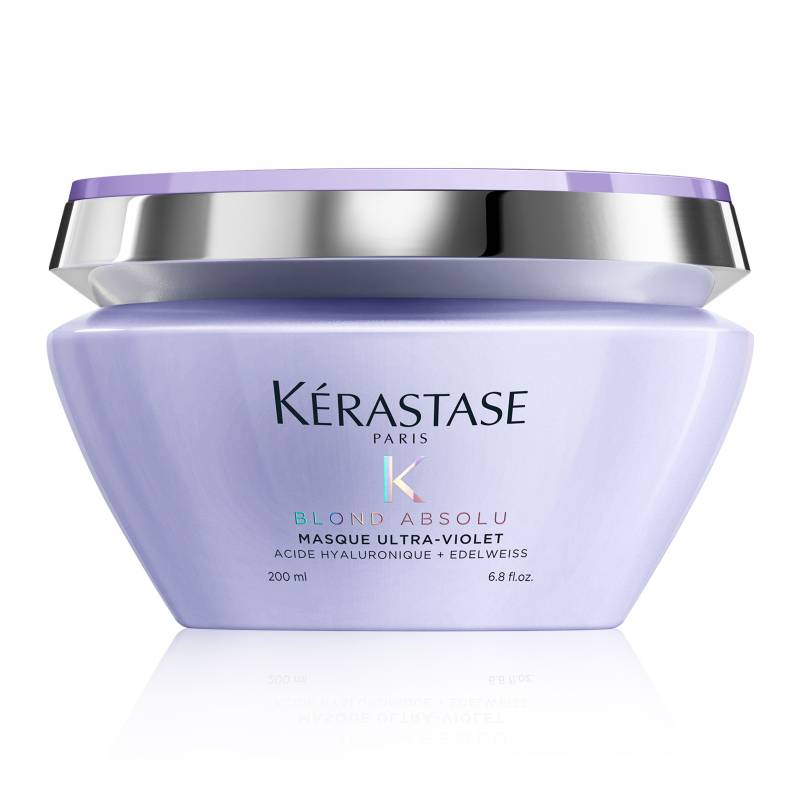 Kerastase - Mascarilla Ultra Violet Blond Absolu 200ml neutraliza rubios