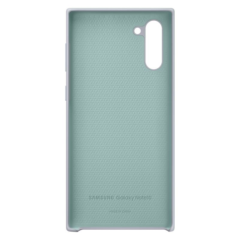 Samsung - Cover Silicona Gris Note 10