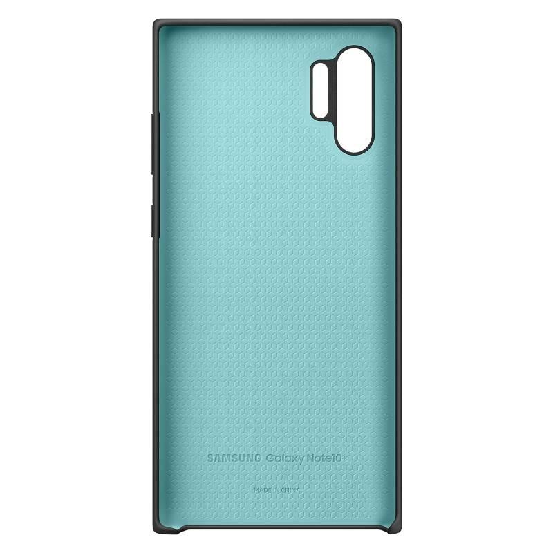 Samsung - Cover Silicona Negro Note 10+