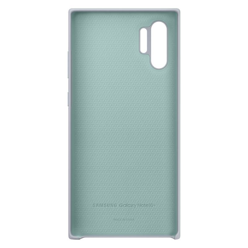 Samsung - Cover Silicona Gris Note 10+