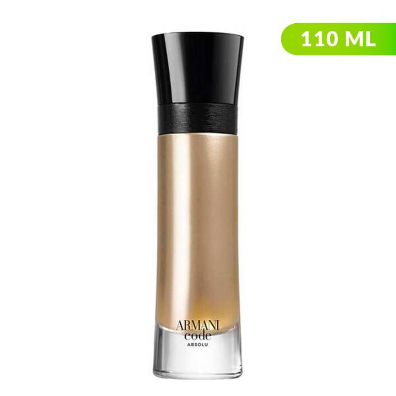 Armani - Perfume Armani Code Absolu Hombre 110 ml EDP