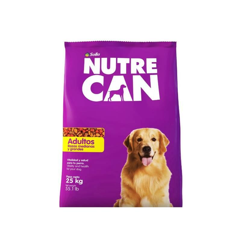 NUTRECAN - Nutrecan Adultos Razas Medianas y Grandes x 25 kg