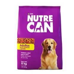NUTRECAN - Nutrecan Adultos Razas Medianas y Grandes x 8 kg