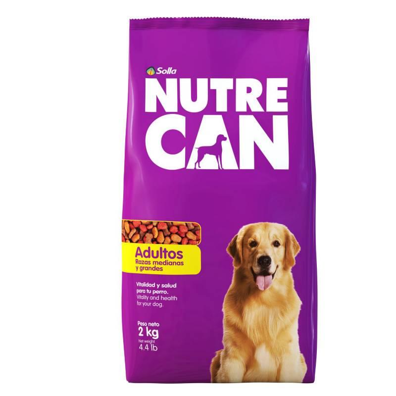 NUTRECAN - Nutrecan Adultos Razas Medianas y Grandes x 2 kg