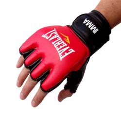 Guantes Grappling Everlast Rojo