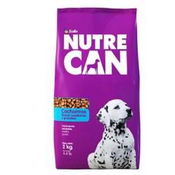 NUTRECAN - Nutrecan cachorros razas medianas y grandes x 2 kg