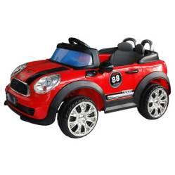 Automovil tipo mini rojo