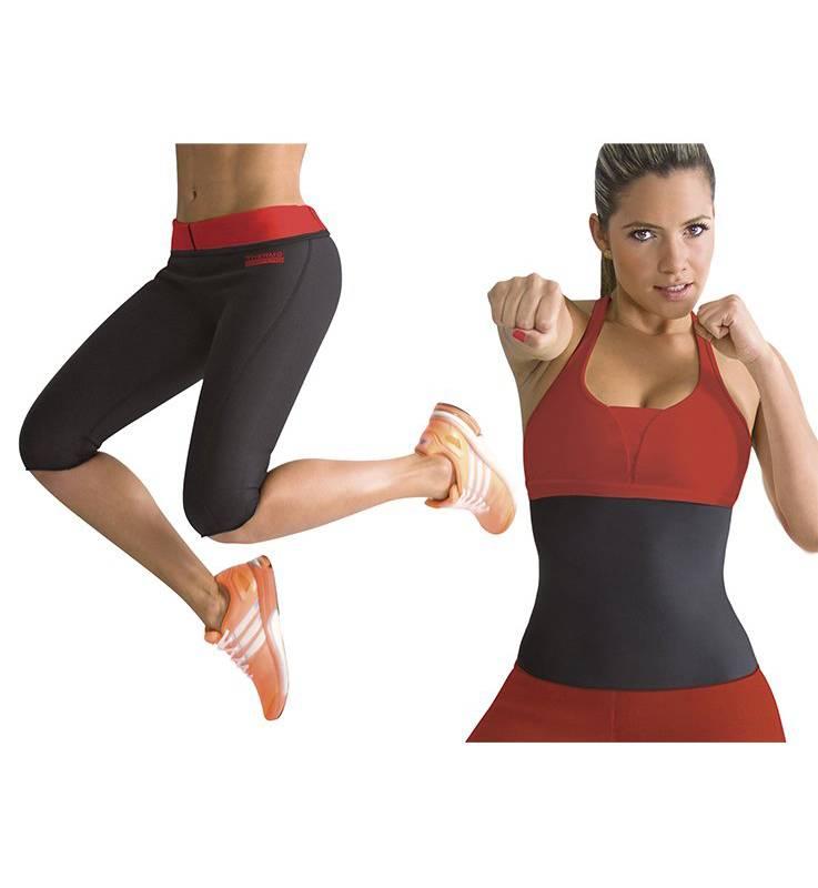 THERMO SHAPERS - Combo: pantalón térmico + cinturilla reductora