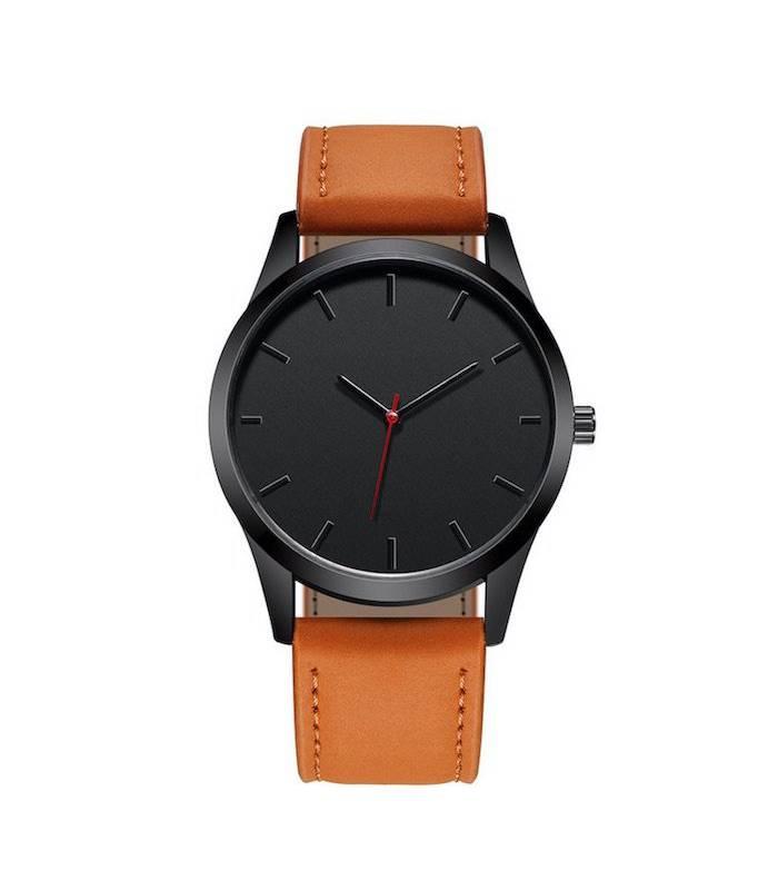 Genérico - Reloj hombre cuarzo deportivo pulso cuero t1300
