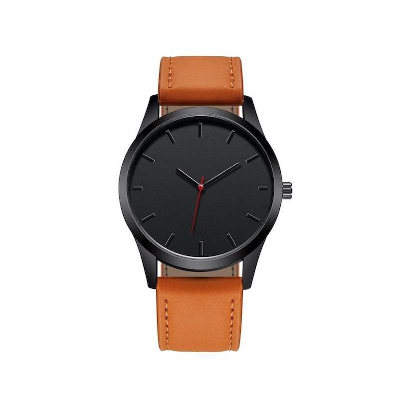 - Reloj hombre cuarzo deportivo pulso cuero t1300