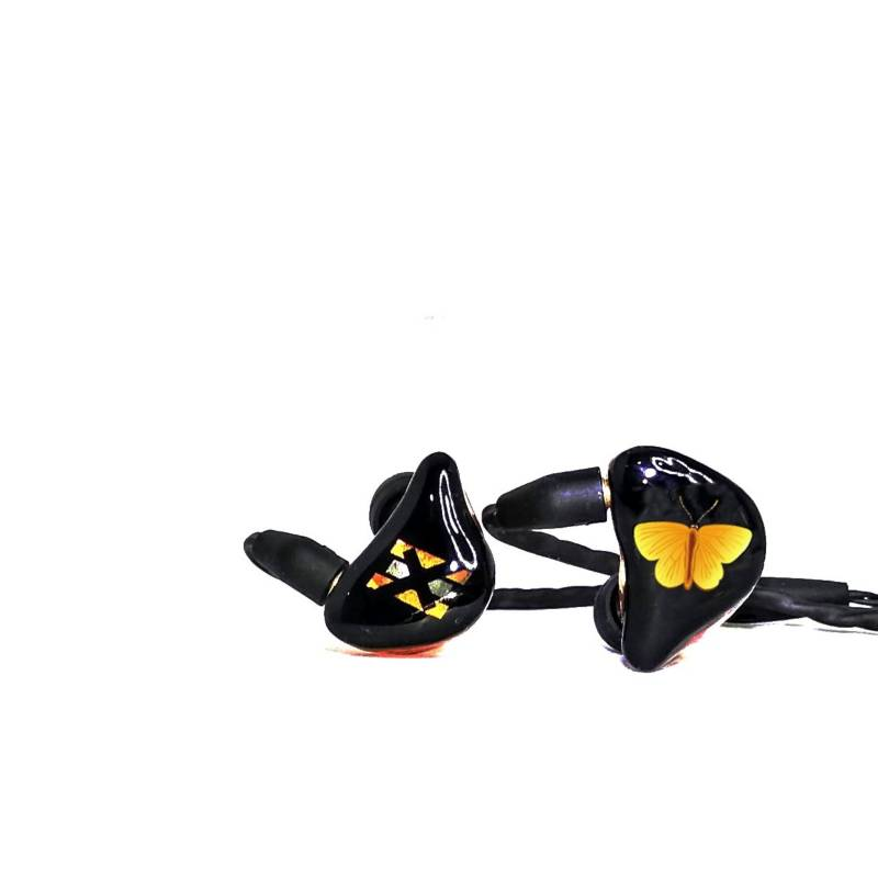 EXCLUSIVE EARS - Audífonos monitor in ear -ex3- mariposa talla s