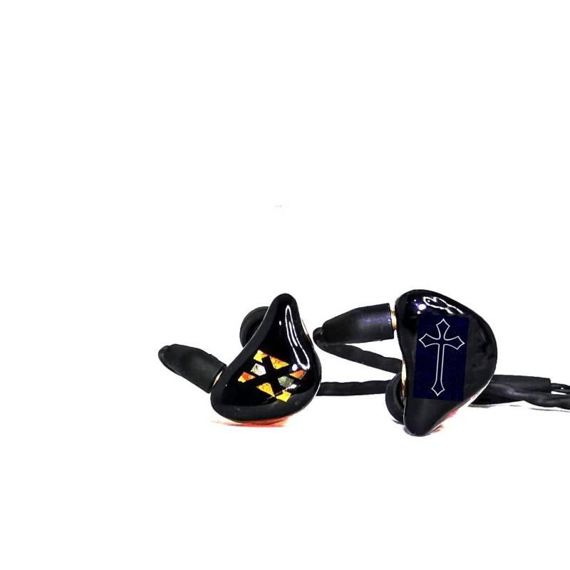 EXCLUSIVE EARS - Audífonos monitor in ear -ex3-cruz talla s
